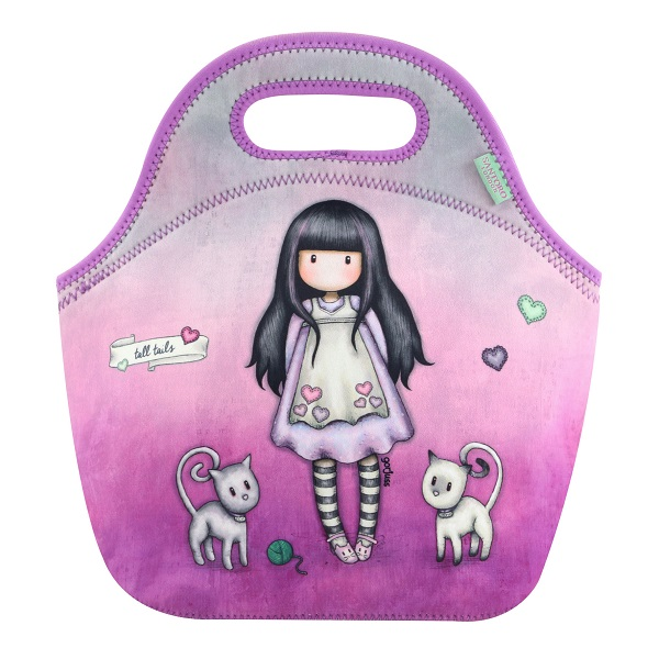 GORJUSS LUNCH BAG TALL TAILS[519GJ11]