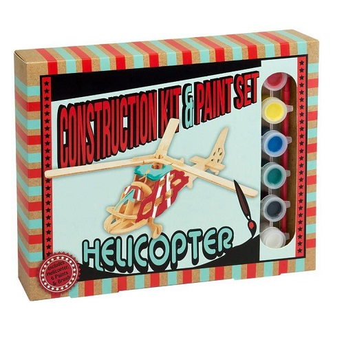 CONSTRUCTION KIT PAINT SET HELICOPTER